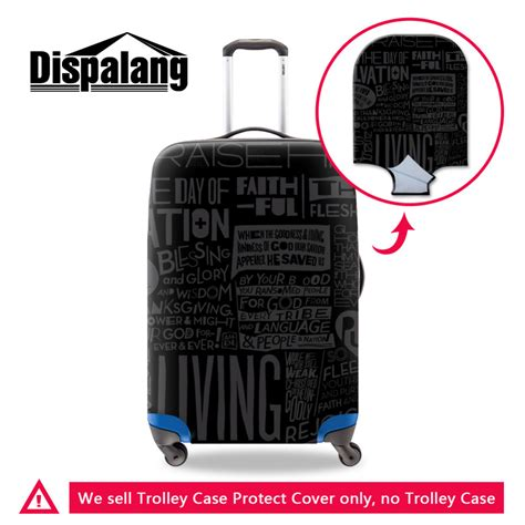 Bag Branded Pria brand cool black elastic luggage protective cover with ziper for 18 to 30 inch trunk
