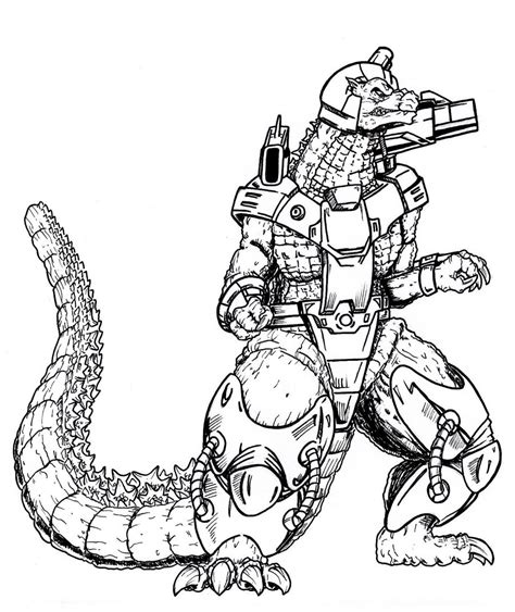 coloring pages it mechagodzilla coloring pages www imgkid com the image