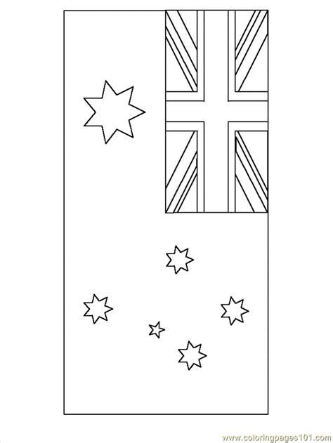 Australian Flag Printable Coloring Home Australian Flag Colouring Page Printable