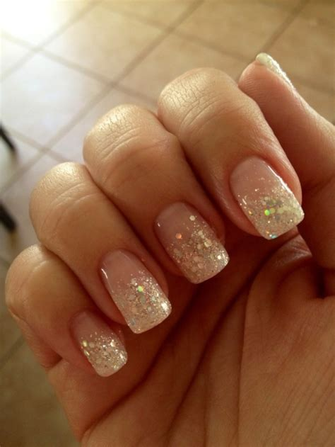 With Nails glitter nails nails10