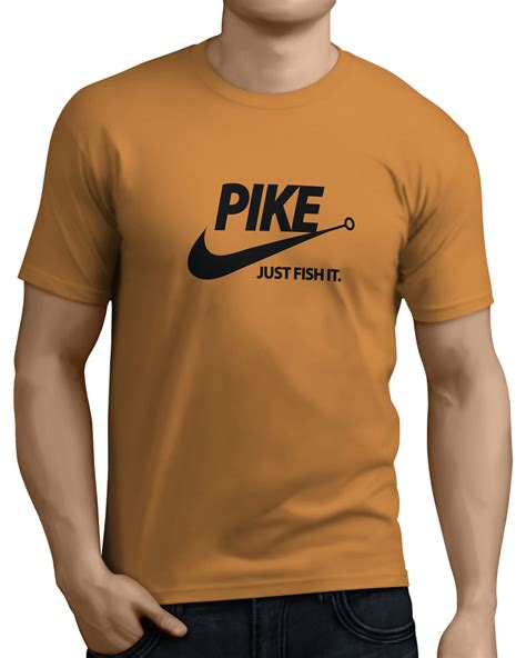 pike colors pike just fish it mens pike fishing t shirts 14