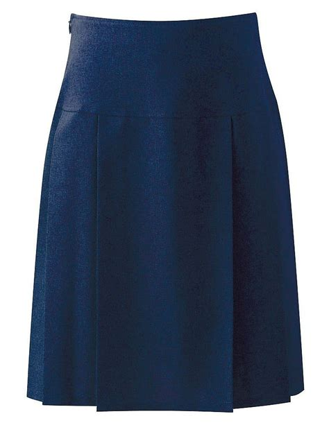 henley pleated skirt 7434 school skirts