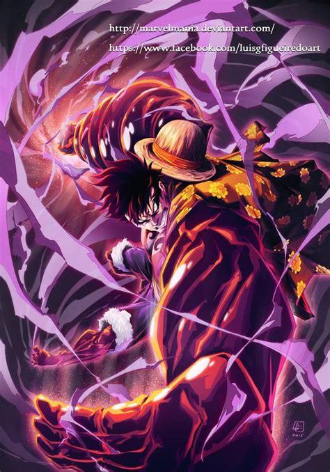 4 Anime One by Monkey D Luffy Fourth Gear By Marvelmania Deviantart