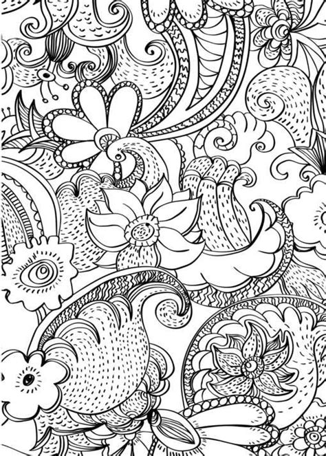 coloring pages abstract flowers the world s catalog of ideas