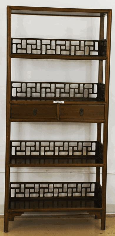 asian furniture oriental style bookcase from china