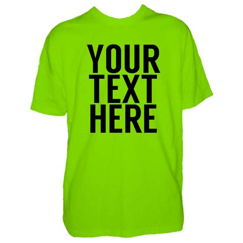 text t shirt mens custom text t shirt