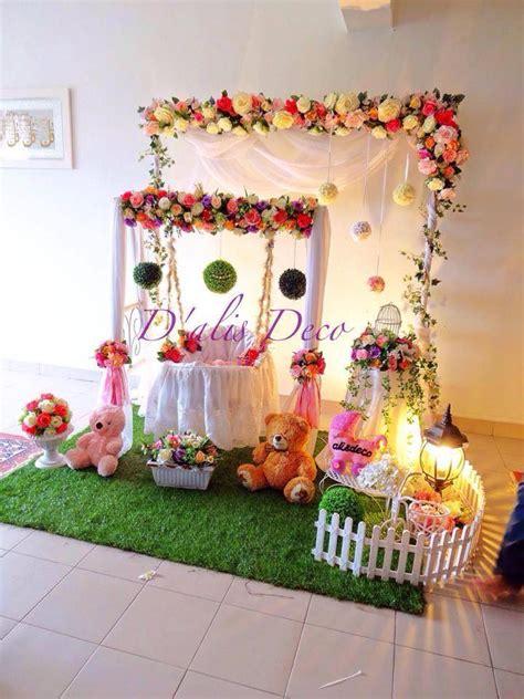 design pelamin aqiqah buaian berendoi cukur jambul akikah butik pengantin