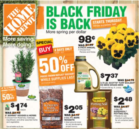 home depot black friday sale awesome deals like a