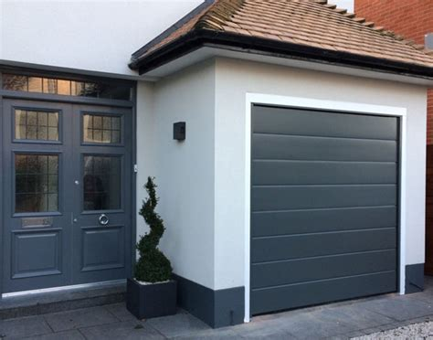 sectional electric garage doors seceuroglide electric garage door in thame oxfordshire