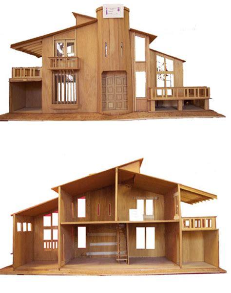 Simple Wood Dollhouse Plans