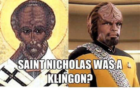 St Nicholas Meme - saint nicholas wasa klingon episcopal church meme on me me