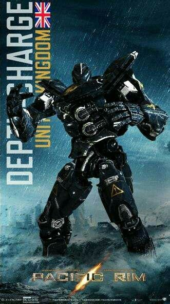 film robot jaeger jaegar quot depthcharge quot united kingdom pacific rim film