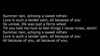 francoise hardy all because of you lyrics all because of you fran 231 oise hardy lyrics youtube