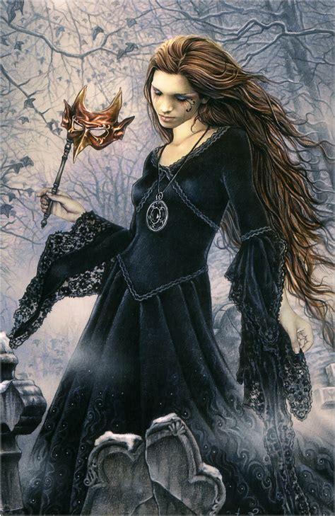 imagenes goticas hadas brujas y demas victoria frances dibujante de arte g 243 tico y de viros