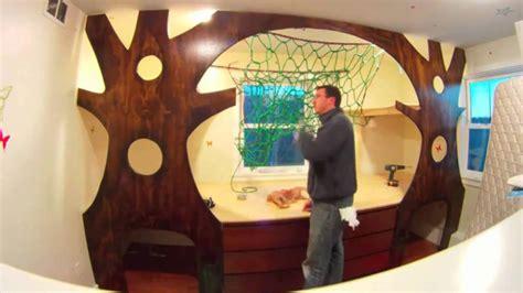 chambre cabane dans les arbres il transforme le lit de enfant en cabane dans les