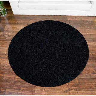 teppich schwarz rund teppich circle multi rund 90 cm bunt echtes kuhfell on