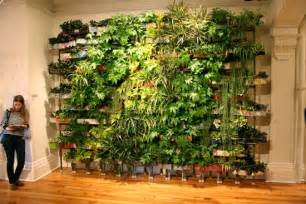 How To Make Vertical Garden Living Wall Living Wall Planter Home Design And Decor Reviews