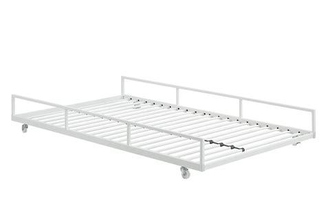 High Riser Bed Frame 33 Steel High Riser Day Bed Frame Pop Up Trundle Bed Frame Pop Up Trundle Find It