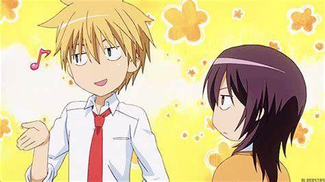 imagenes de anime usui y misaki kaichou wa maid sama critique mangalerie