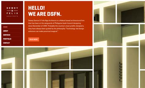 web design architecture 30 inspirational architecture firm website designs