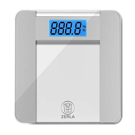 bathroom scales accuracy comparison zerla digital bathroom scale highly accurate digital scale with large 4 5 quot lcd