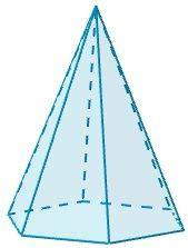 pirámide de base cuadrada pir 225 mide hexagonal