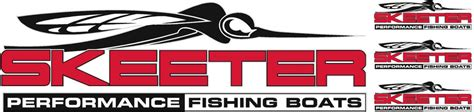 skeeter boats logo accessories skeeter boat logos decal vinyl sticker graphic you get 4