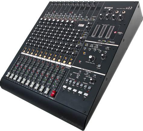 Mixer Yamaha N12 yamaha n12 digitalmixer firewire daw controller cubase