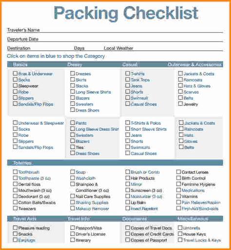 vacation checklist vacation travel check list tire driveeasy co