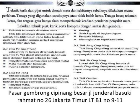 Tempat Jual Alat Pijat Elektrik Di Surabaya alamat pijat alat vital jakarta gosok pi