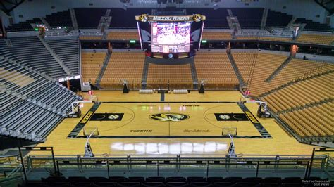 Section 8 Columbia Mo by Mizzou Arena Section 206 Rateyourseats