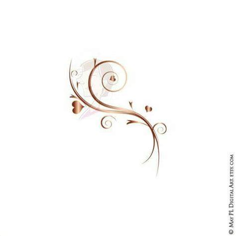 Wedding Flourish Clipart by Flourish Clipart Gold Wedding Floral Diy