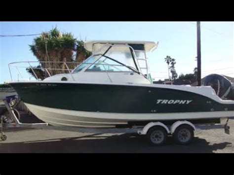 trophy boats models trophy 2502 with verado 250hp 4 stroke 2005 model year