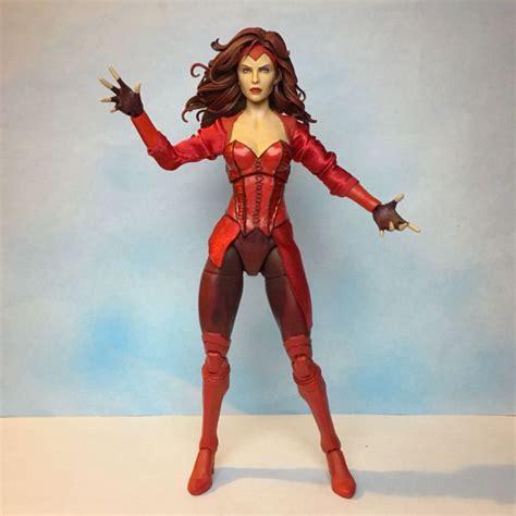 Marvel All Figure scarlet witch original concept marvel legends custom figure marvel legends custom