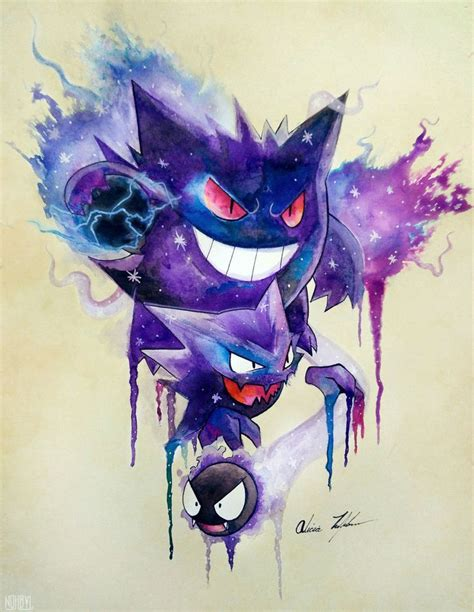gengar tattoo best 25 gengar ideas on cubone