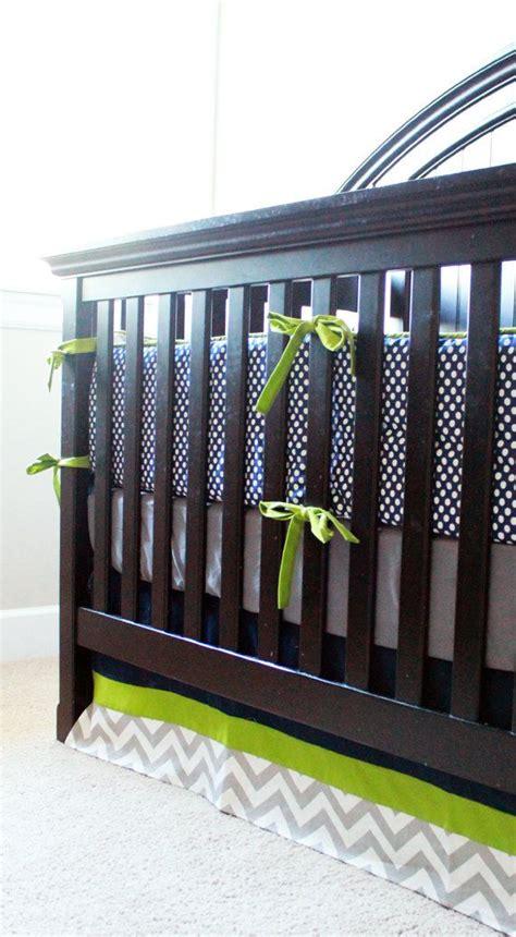 custom baby bedding custom baby bedding blue grey and green via etsy