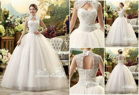 Gaun Dress Blue Flower M Import Original jual gaun pengantin mewah murah import shops