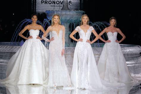 Wedding Dresses Fashion by Pronovias Bridal Fashion Show 2018 Fashionhippieloves