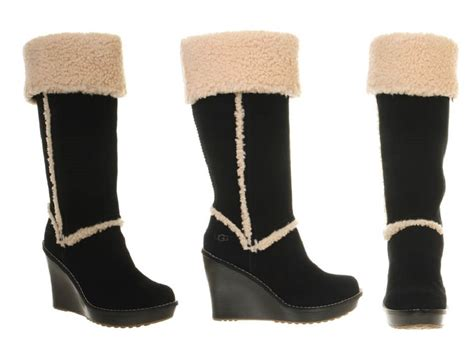 ugg aubrie wedge boots review