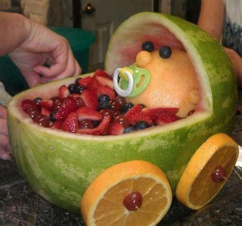 Ideas De Comida Para Baby Shower by Simp 225 Tico Adorno Para Tu Baby Shower Fruta Y Comida