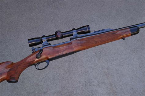 Handmade Rifle Stocks - a look at the walnut custom rifle stock