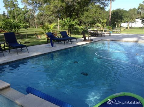 Backyard Pool Updates Our Finished Pool And Backyard Update Addict
