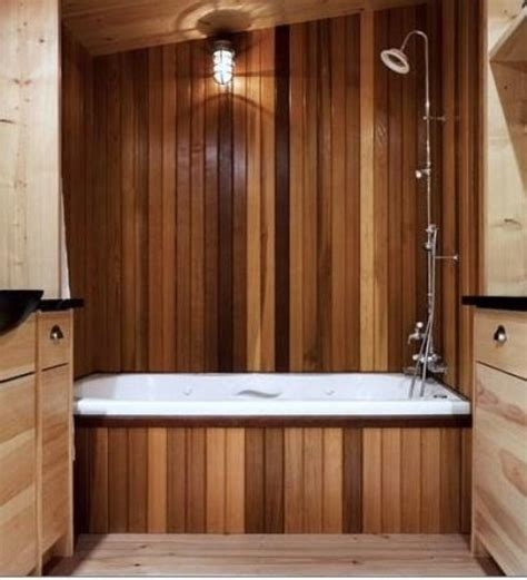 wood bathroom 45 stylish and cozy wooden bathroom designs digsdigs
