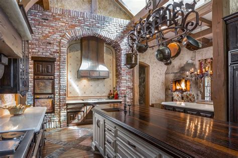 Castle Kitchens by Country Style Castle In Fairbanks Ranch