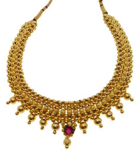 kothari jewelry 22kt gold thusshi necklace buy kothari