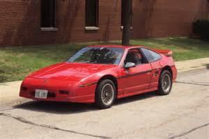 1986 Pontiac Fiero 1986 Pontiac Fiero Pictures Cargurus