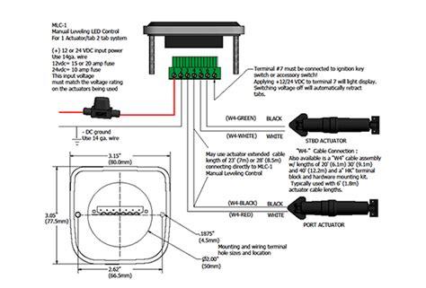lenco trim tabs wiring diagram 30 wiring diagram images