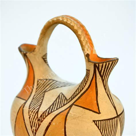 Acoma Wedding Vase by Pottery Acoma Wedding Vase The Wandering Bull Llc