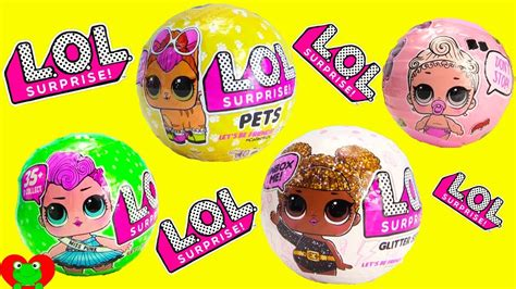 Lol Glitter Series lol pets dolls lil and glitter series