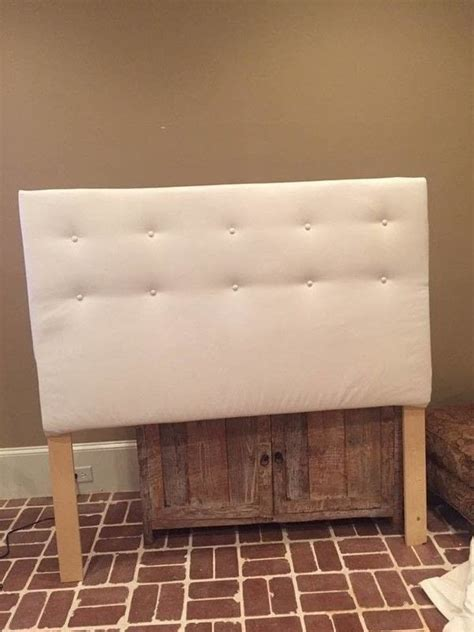 easy tufted headboard 183 how to make a bed headboard 183 home